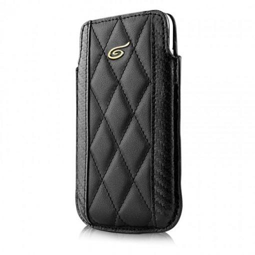Itskins Enzo Carbon Galaxy S4 - Black & Gold-0