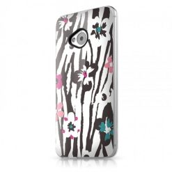 Itskins Phantom HTC One - Zebra Flower