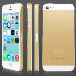 iPhone 5 / 5s Champagne Gold Sticker / Wrap Cover