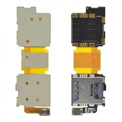 Samsung G900 Galaxy S5 Sim & Memory Card Reader Flex Cable
