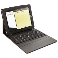 iPad 2, 3 & 4 Black Bluetooth Keyboard Case