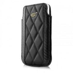 Itskins Enzo Carbon iPhone 4 / 4S - Black & Gold
