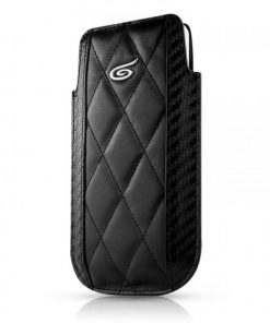 Itskins Enzo Carbon iPhone 4 / 4S - Black & Silver
