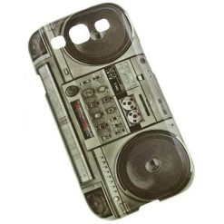 Samsung i9300 / i9305 Galaxy S3 Ghetto Blaster Design Gel Case