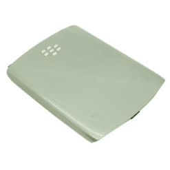 Blackberry 8520 / Curve Grey / Silver Battery Cover-0