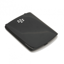 Blackberry 8520 / Curve Black Battery Cover-0
