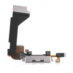 iPhone 4 Black OEM Charging Connector Flex Cable-0