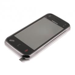 Nokia N97 Mini Black Lens With Digitiser + Frame-0