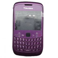 Blackberry 8520 Curve Purple Full Original Housing-0