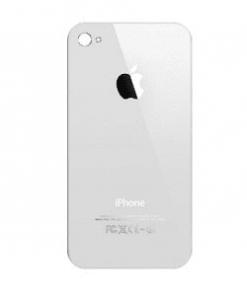 iPhone 4 White Back Lens