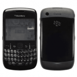Blackberry 8520 Curve Black Full Genuine Housing-0