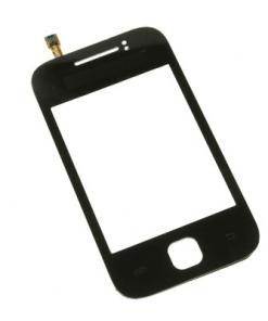 Samsung S5360 Galaxy Y Black Lens With Digitiser-0