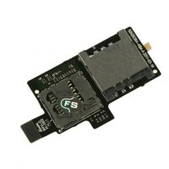 HTC G14 / G18 Sensation Sim & Memory Card Reader Flex-0