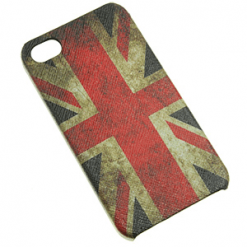 iPhone 4 / 4S Union Jack With Full Oil Painting Effect-0