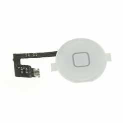 iPhone 4 White Home Button With Flex Cable-0