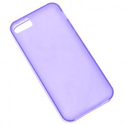 iPhone 5 / 5S / SE Purple Matte Gel Case