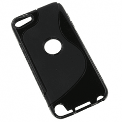 iPod Touch 5th Generation Black S-Line Gel Case-0