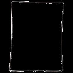 iPad 2 Black Plastic Digitiser Frame