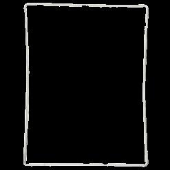 iPad 3 / 4 White Plastic Digitiser Frame