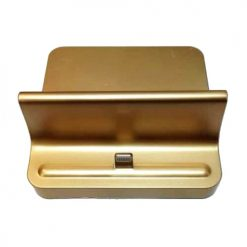 iPhone / iPad Universal Lightning Gold Charging Dock