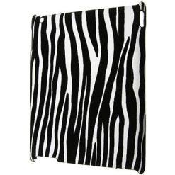 iPad 2, 3 & 4 Zebra Print Clip On Back