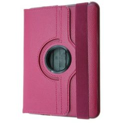 Kindle Fire HD Pink Rotating Flip Pouch / Case With Stand