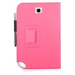 Samsung N5110 Galaxy Note 8.0 Hot Pink Flip Case / Pouch With Stand