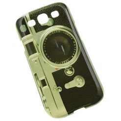 Samsung i9300 / i9305 Galaxy S3 Classic Camera Design Gel Case