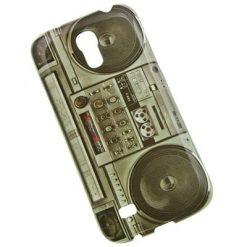 Samsung i9500 / i9505 Galaxy S4 Ghetto Blaster Design Gel Case