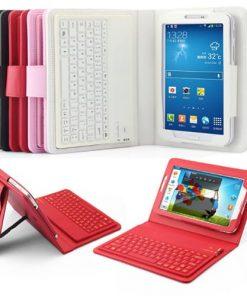 """Samsung T210 Galaxy Tab 3 7"""" Bluetooth Keybaord Case"""