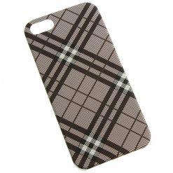 iPhone 5 / 5s Burgundy Tartan Clip On Back