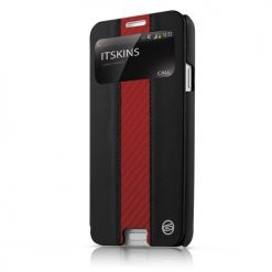 Itskins Visionary Drift Galaxy Note 3 - Black & Red