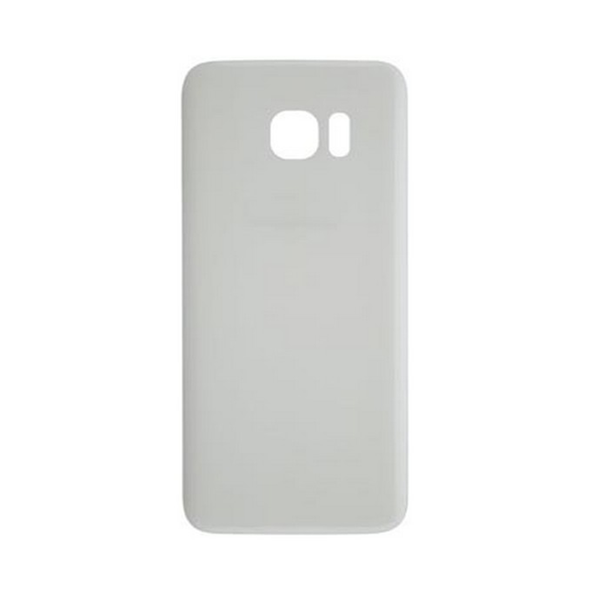 back cover samsung s7 silver