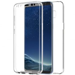 Samsung G950 Galaxy S8 Full Gel Case With Detachable Back Panel-0