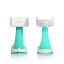 Remax RM-C15 White & Turquoise Standable Dashboard Smartphone Car Holder-0