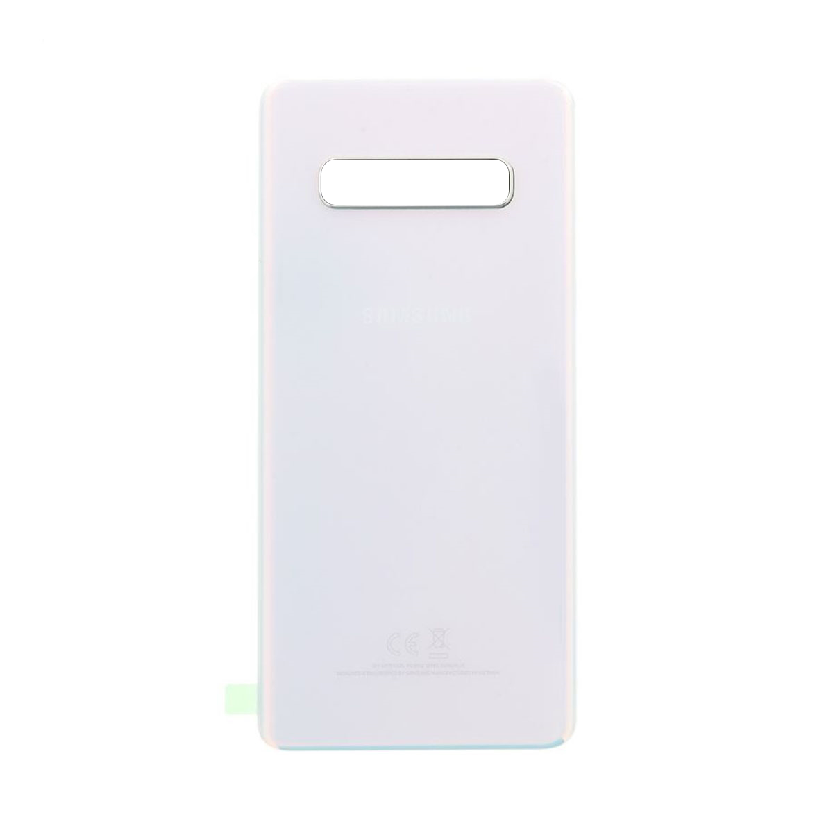 G975f High Plus Glass Cover Samsung Quality Galaxy Battery S10 White rear -